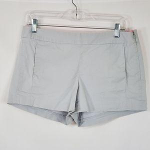 J. Crew Gray Shorts Side Zip Size 6